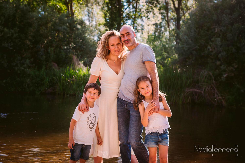 Fotos de familia en Salamanca